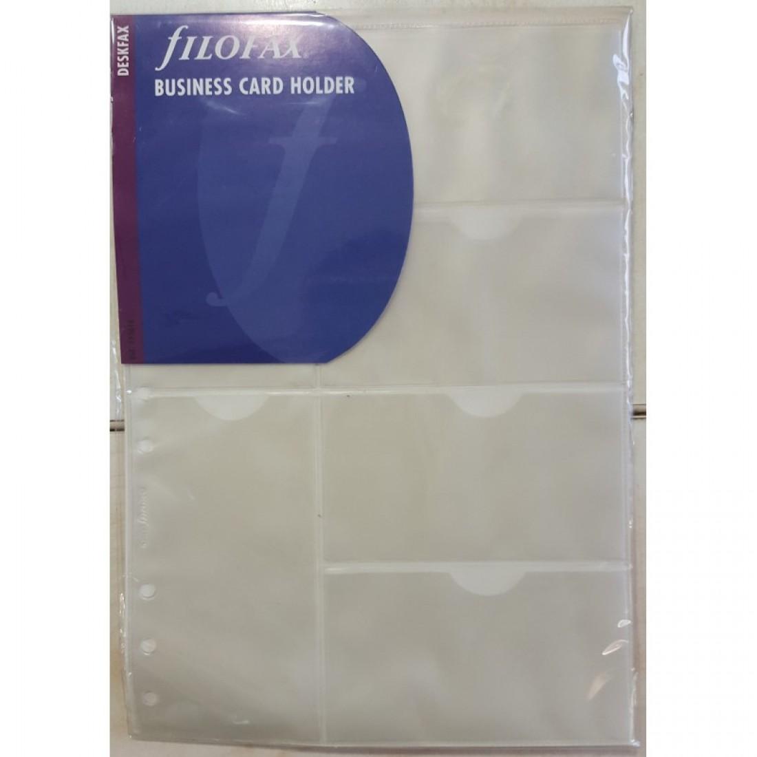 Filofax Business Card Holder