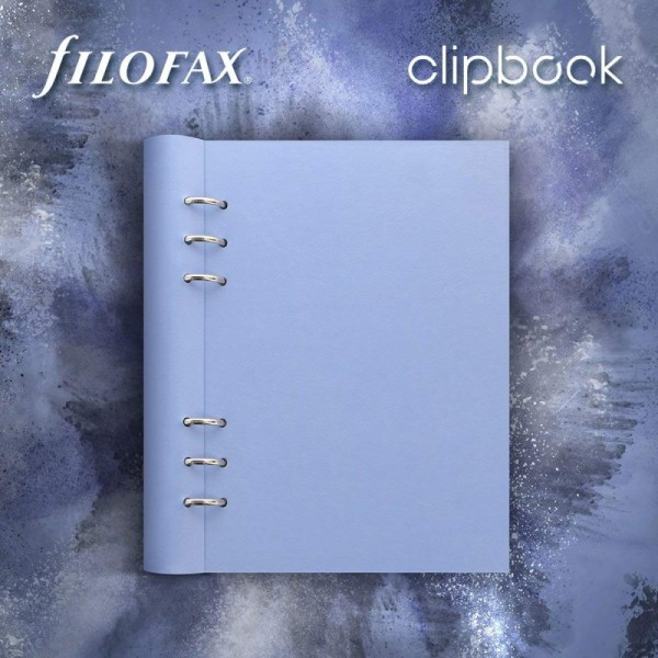 Filofax Clipbook vista blue