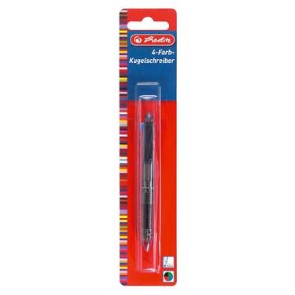 HERLITZ 4 Farben-Kugelschreiber